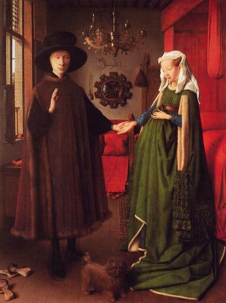 Arnolfine Hochzeit, Jan van Eyck, 1434