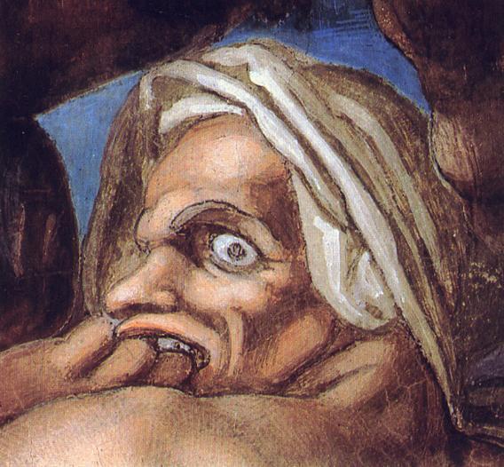 Michelangelo,_Giudizio_Universale_30