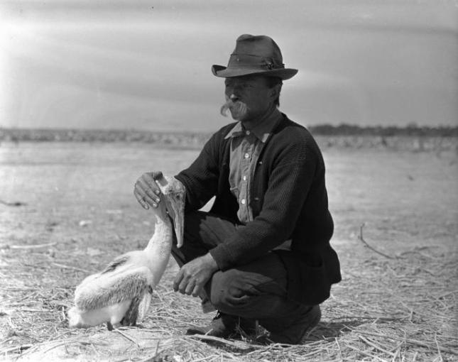 history-photo-of-man-dressed-as-a-cowboy-with-a-bird-687x544