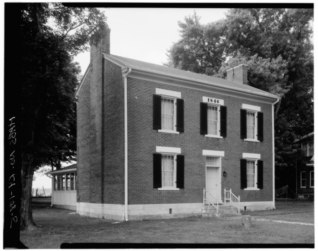 SOUTH_AND_WEST_SIDES_-_Shaker_Centre_Family_Ministry's_Shop_and_Dwelling,_East_side_of_U.S._Route_68,_South_Union,_Logan_County,_KY_HABS_KY,71-SOUN,6-5.tif