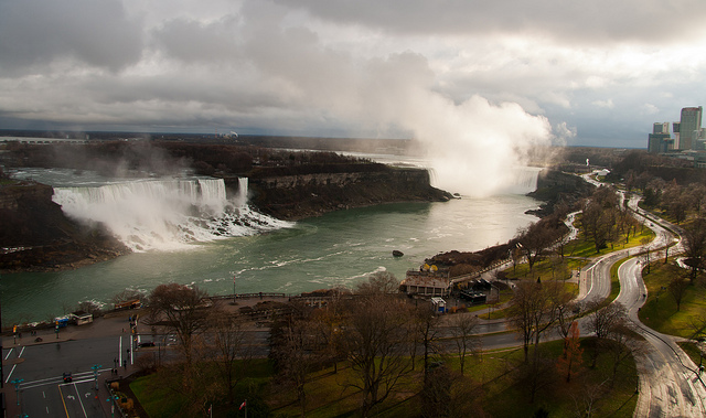 American Falls and Horseshoe Falls