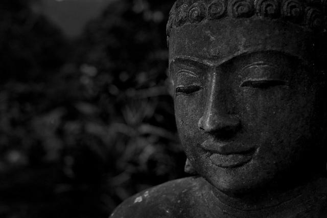 44 Buddha 3 BW