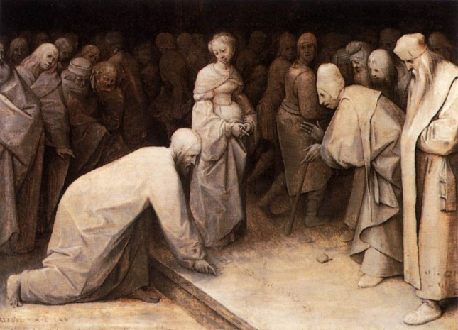 997px-Pieter_Bruegel_the_Elder_-_Christ_and_the_Woman_Taken_in_Adultery_-_WGA03469.jpg